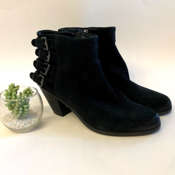3a08e2577 Sam Edelman Black Leather Lucca Ankle Booties 8